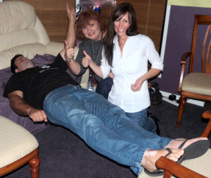 Students Doing Hypnosis During Hypnosis Certification Training