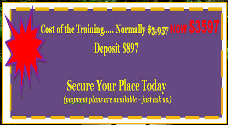 Hypnosis cost of Training banner Vers 2
