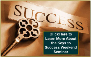 Keys to Success Weekend Seminar on the Sunshine Coast