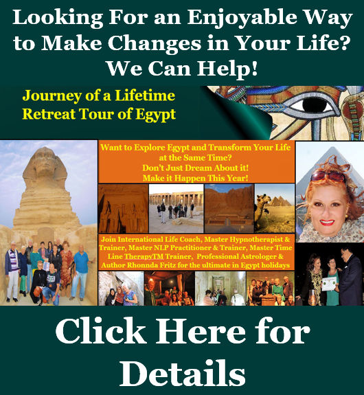 Journey of a Lifetime Retreat Tour of Egypt Looking to Make Changes Banner