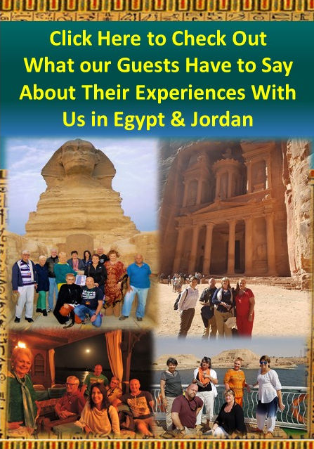 What Our Former Guests Have to Say About Their Eperiences on our Tours of Egypt