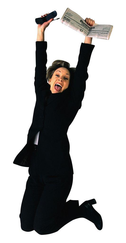 Life Coaching Sunshine Coast Jubilant Businesswoman
